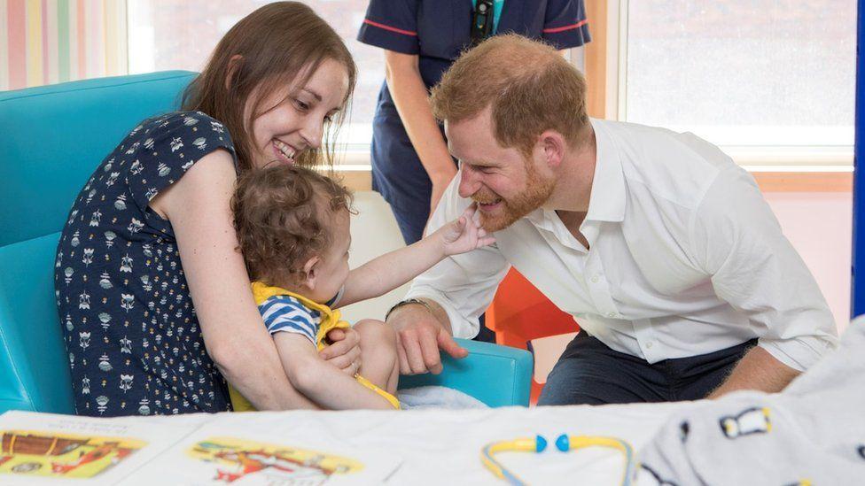 Prince Harry in Sheffield