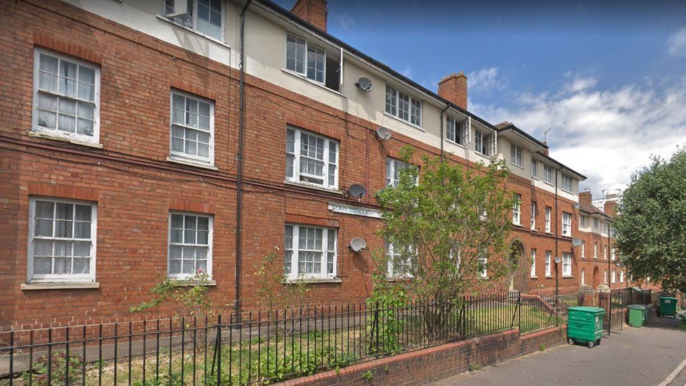 Flats along Eugene Street, Bristol