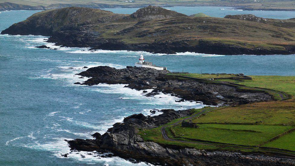 The lighthouse on Valentia Island