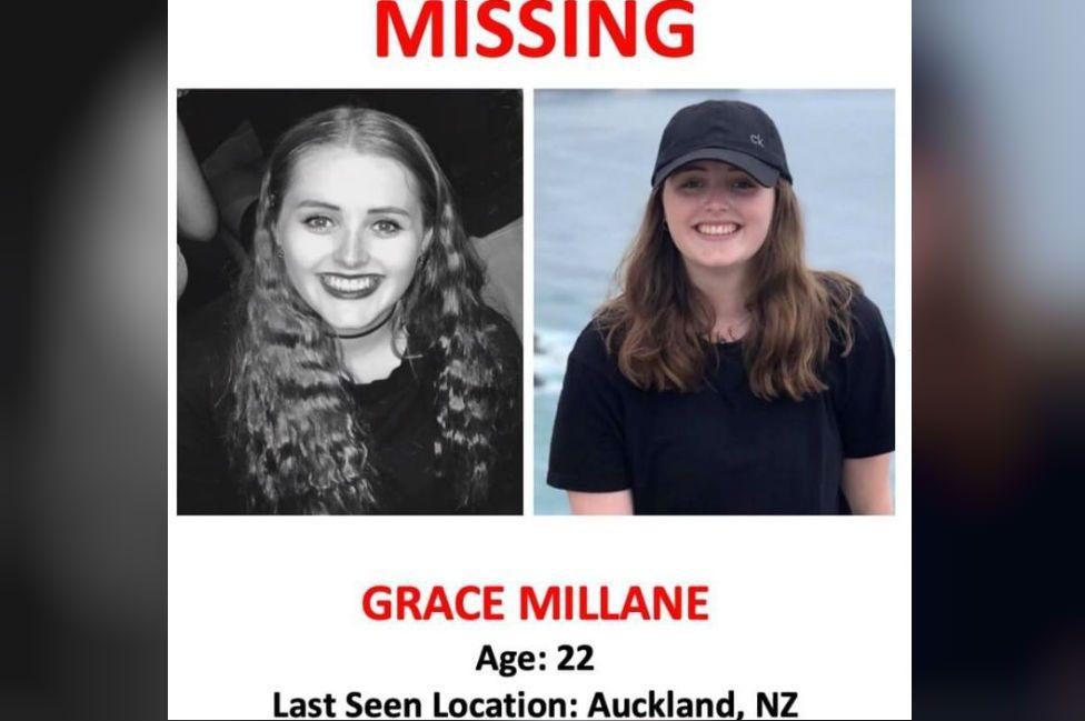 Missing poster for Grace Millane