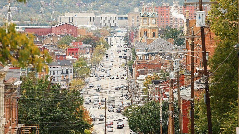 Over-the-Rhine is one of the best-known black neighborhoods in Cincinnati, Ohio