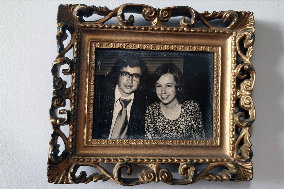 A portrait of Don and Irene Cunningham