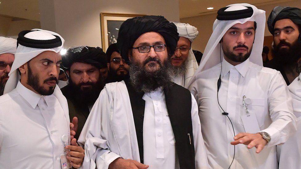 taliban team in doha