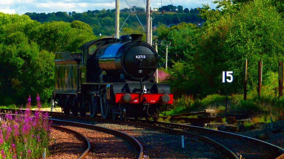 Bo'ness steam train