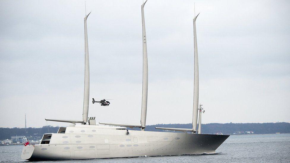 Sailing Yacht A off Denmark, 6 Feb 17