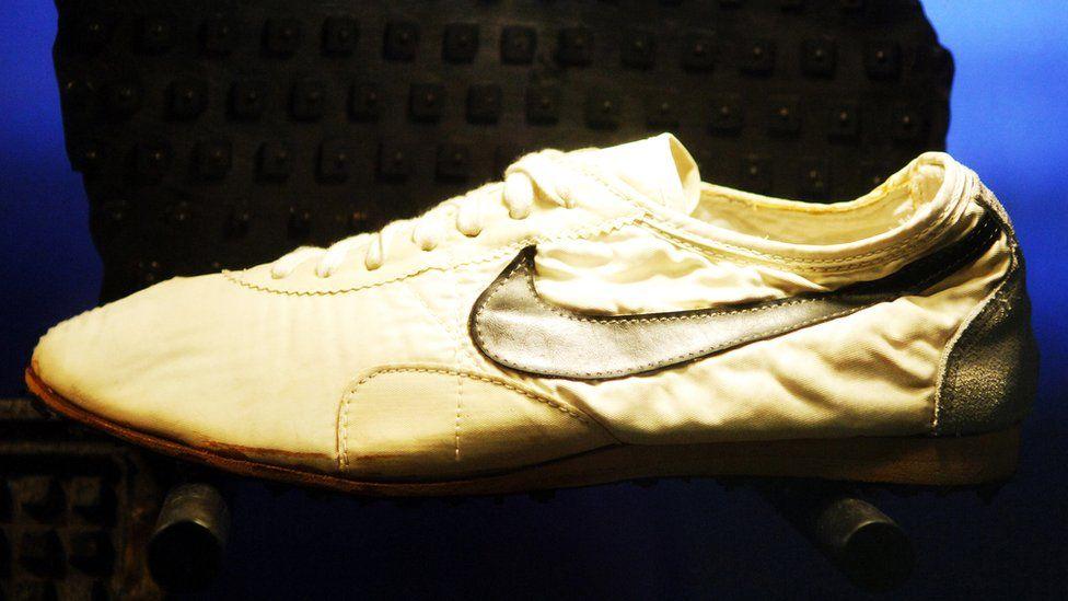 """Nike waffle-sole """"moon shoe"""""""