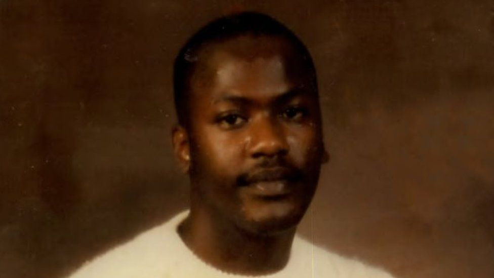 Curtis Flowers before he was sent to prison