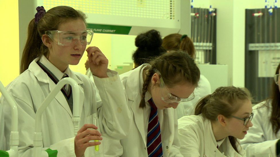 There has been a gradual increase in the number of girls taking STEM subjects at GCSE and A-level in recent years