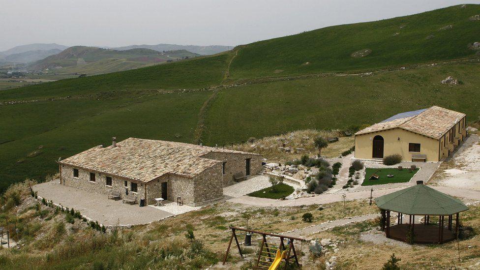 Ex-Mafia property near Corleone in Sicily, 2010 pic
