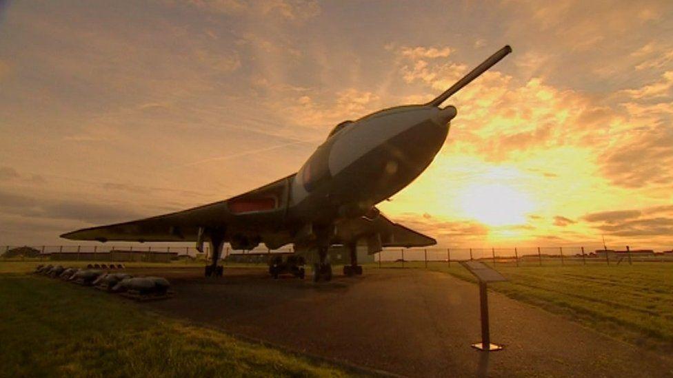 Aircraft at RAF Waddington