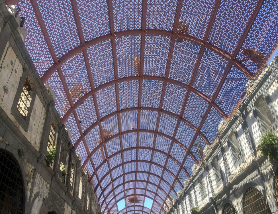 Roof designed by Ghassan Jansiz