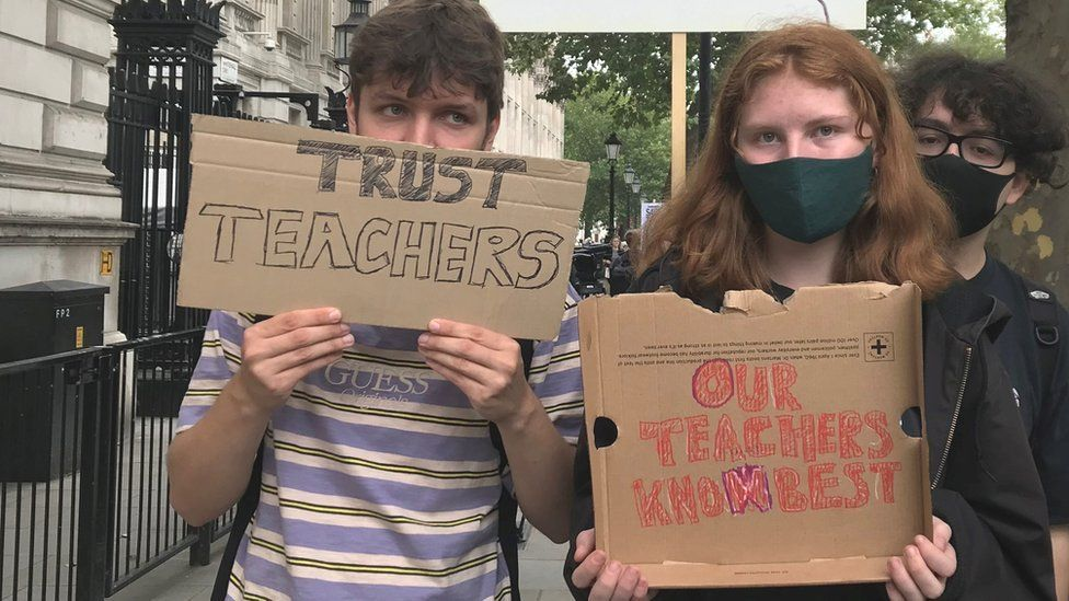 A-level protest