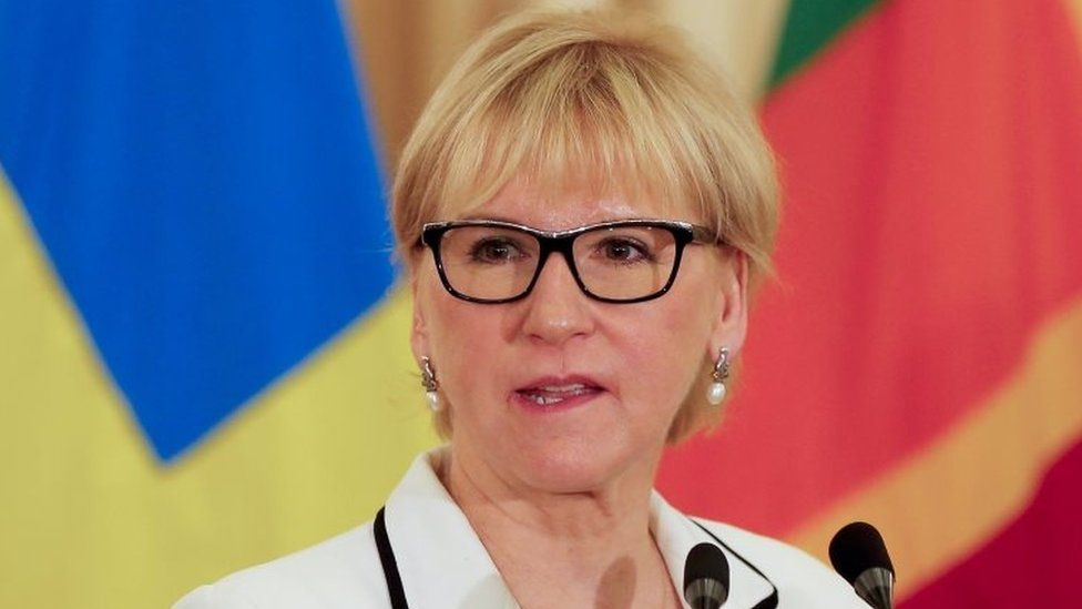 Swedish Foreign Minister Margot Wallstrom. Photo: April 2016