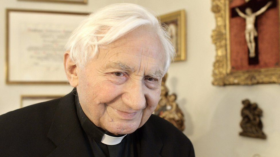 File pic of Georg Ratzinger
