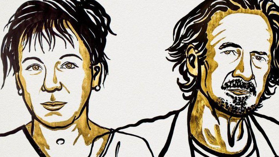 Nobel de Literatura: quiénes son Olga Tokarczuk y Peter Handke, los ganadores del premio de 2018 y 2019