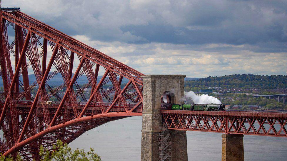 The Flying Scotsman steam train