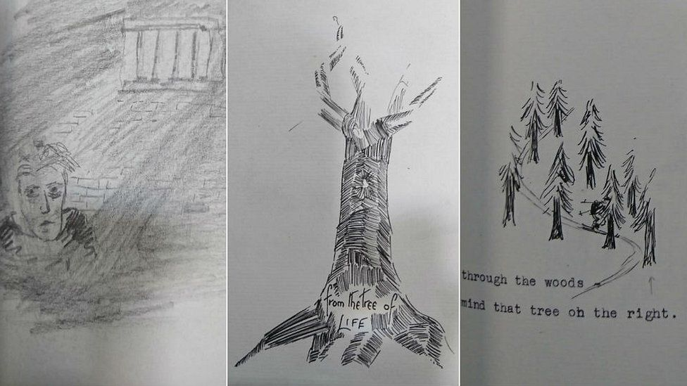Sketches from diary