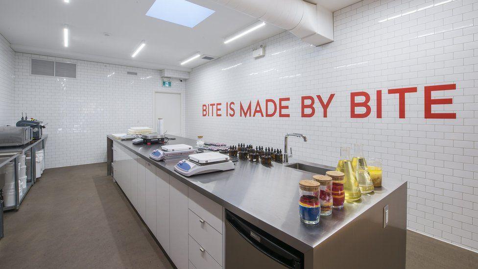 Bite's production lab in Toronto