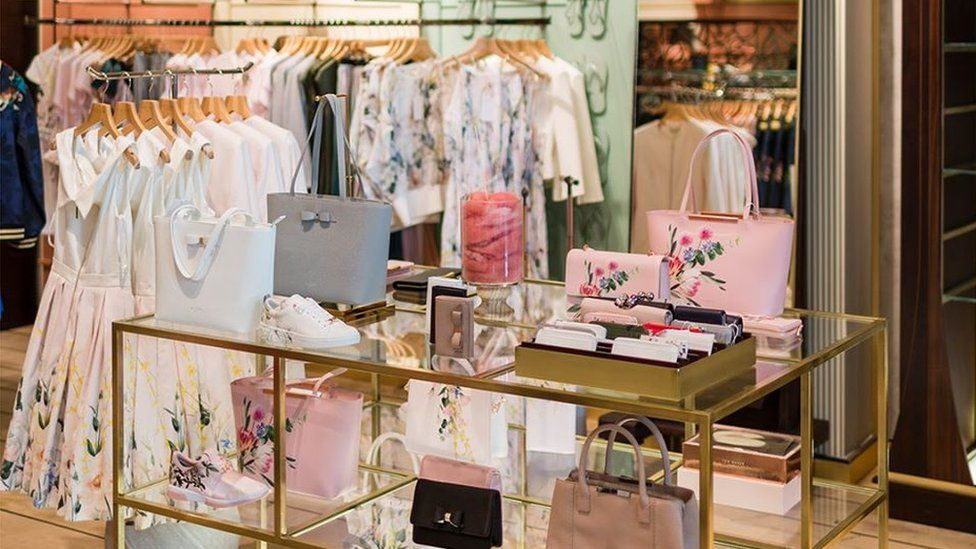A Ted Baker shop