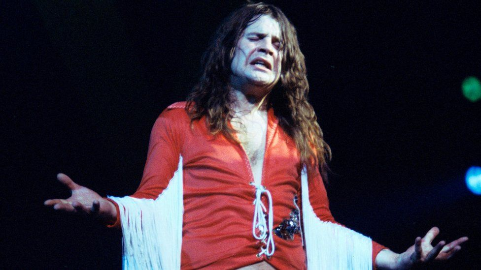 Ozzy Osbourne in the 1970s