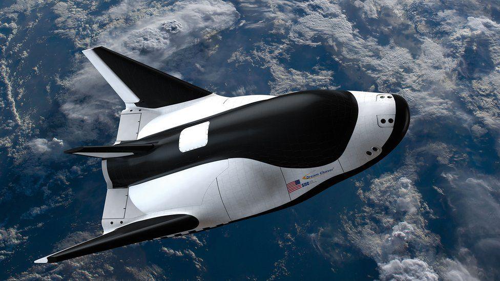 Dream Chaser in flight
