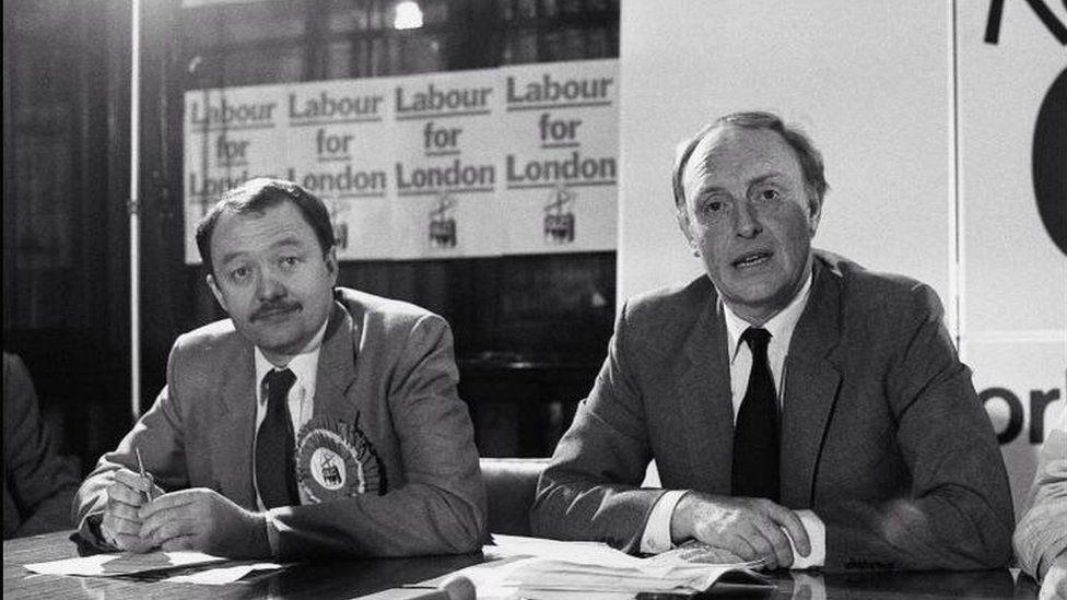 Ken Livingstone and Neil Kinnock