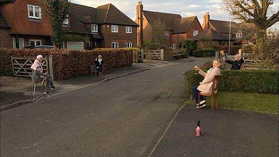 Chequers Lane in Pitstone, Buckinghamshire