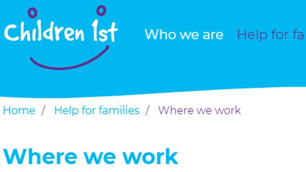 Children 1st website