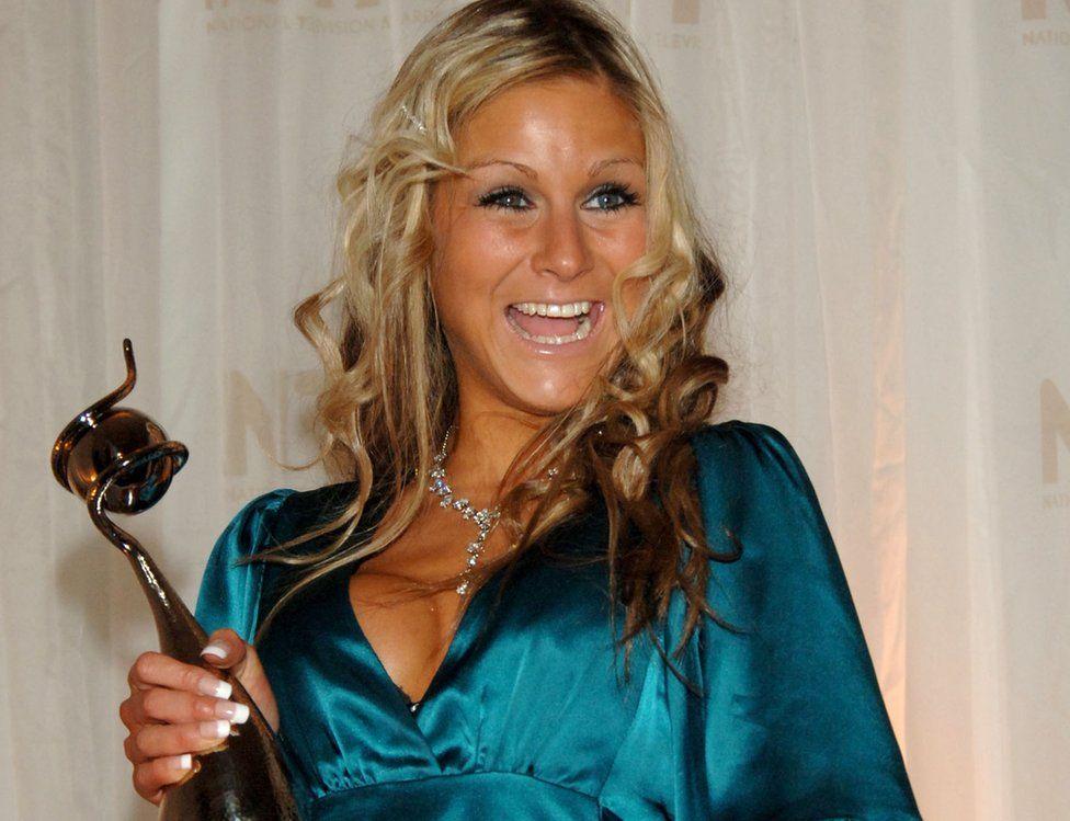 Nikki Grahame at the National Television Awards in 2006