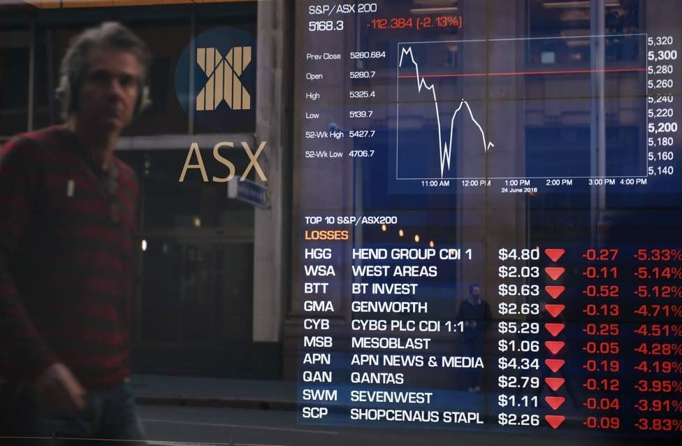 Brexit: la libra esterlina cae a sus niveles más bajos desde 1985 y las acciones se desploman