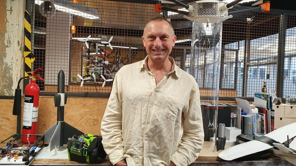 Avionics expert Dr Steve Wright believes drones will soon come out on top