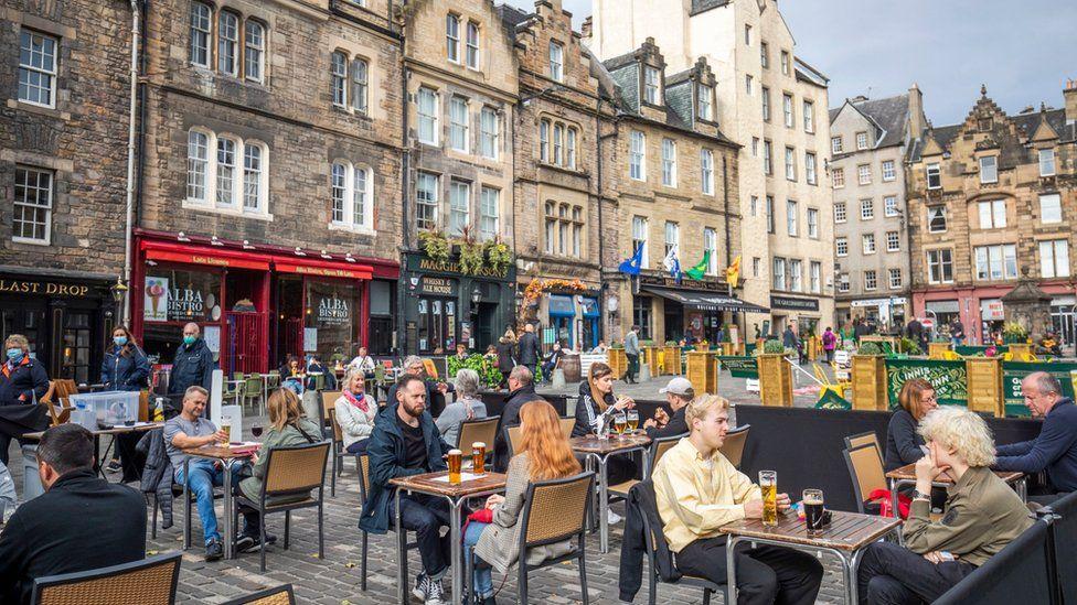 The Grassmarket in Edinburgh