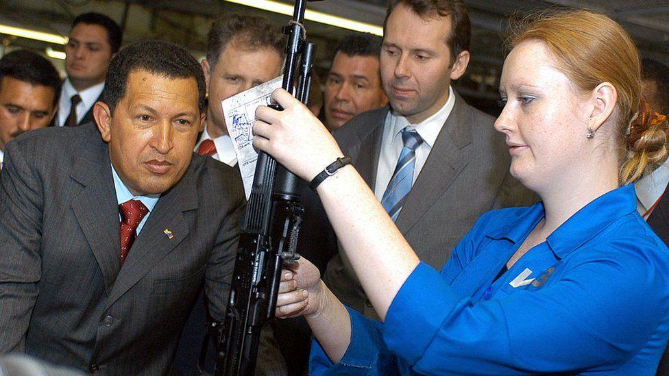 Durante el gobierno de Hugo Chávez, Venezuela se convirtió en el principal comprador de armas rusas de América Latina.