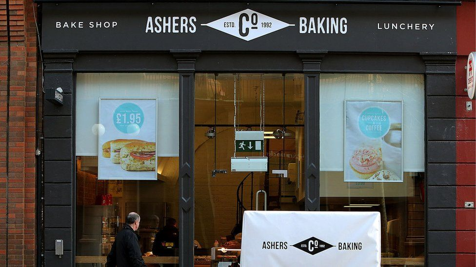 Ashers Baking Company frontage