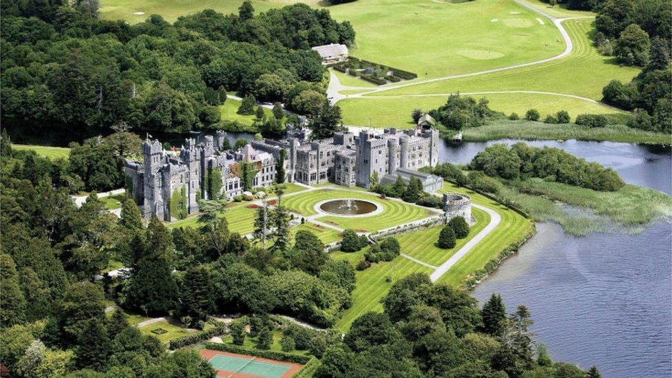Security has been tight at Ashford Castle in the days leading up to the wedding