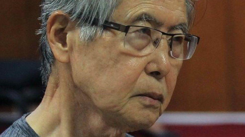 Alberto Fujimori. Photo: January 2015