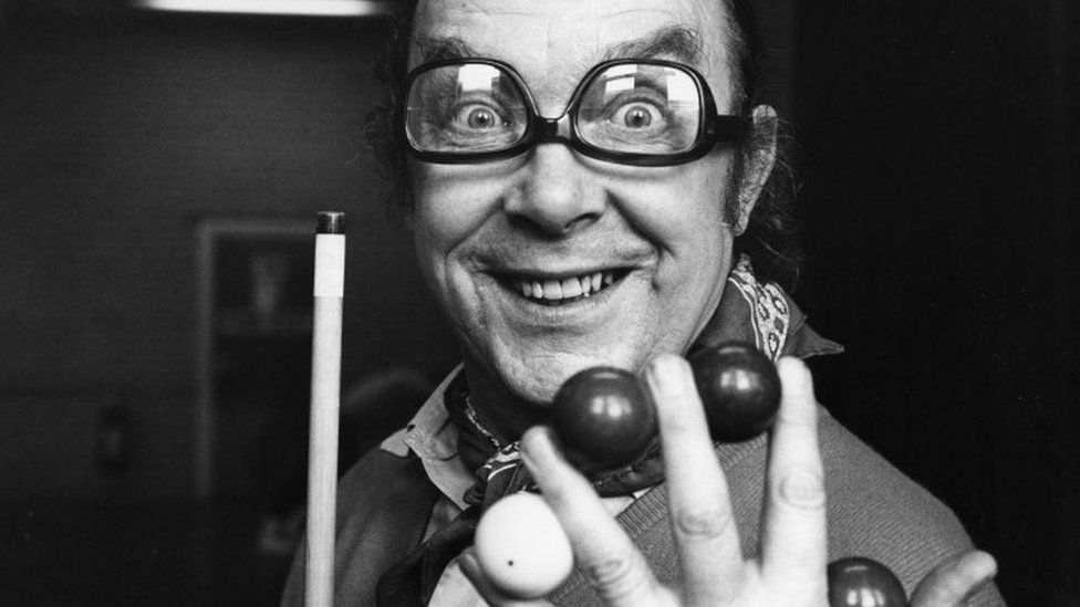 Eric Morecambe photographed in 1978
