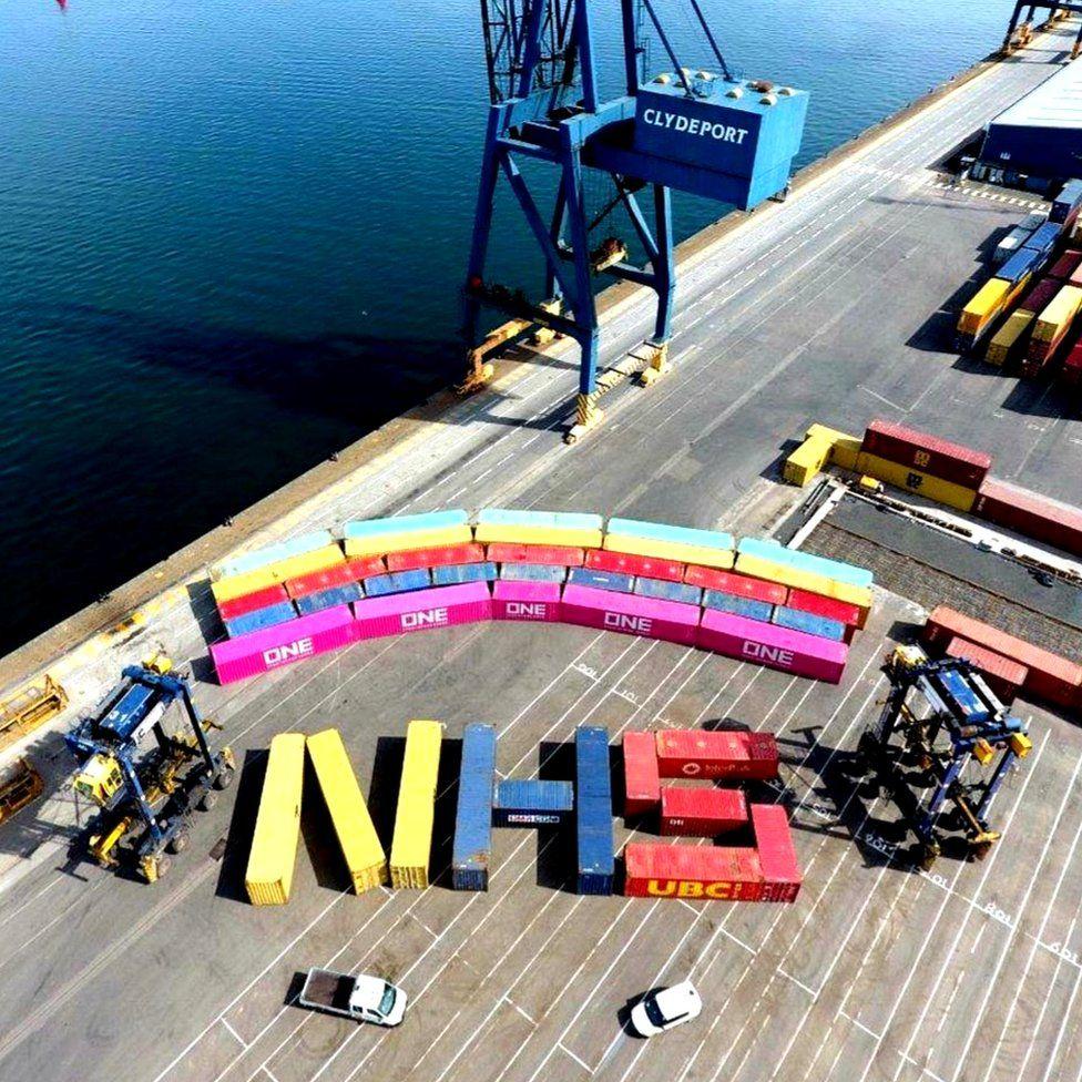 Container rainbow