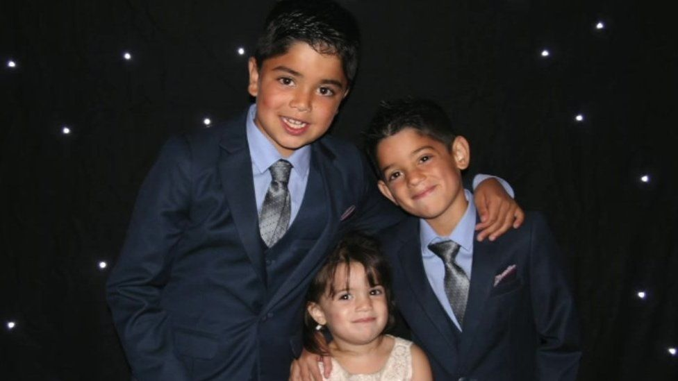 Shay, Dylan and Jasmine Patel