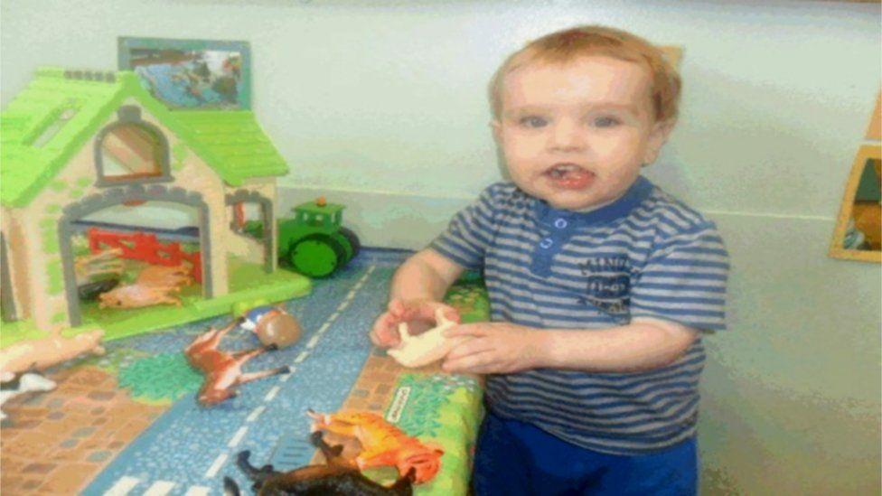 Liam at nursery