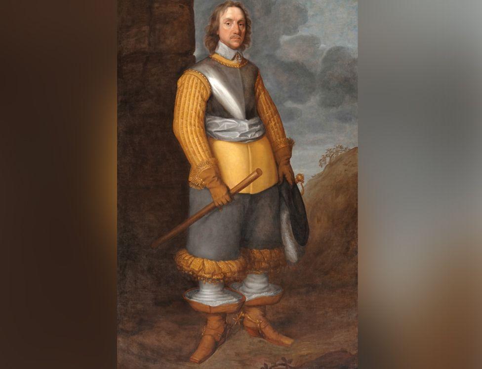 Oliver Cromwell portrait, larger