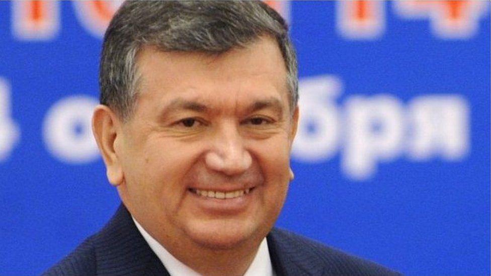 Uzbek Interim President Shavkat Miziyoyev