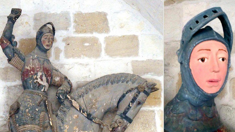 Статуя Св. Георгія
