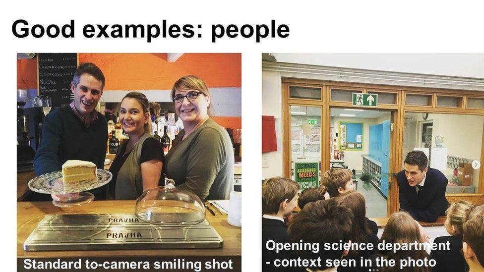 Slide: good examples of people