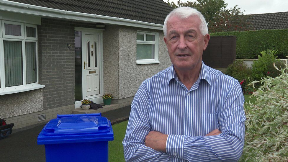 David Burke says older people will find the new bins difficult to cope with