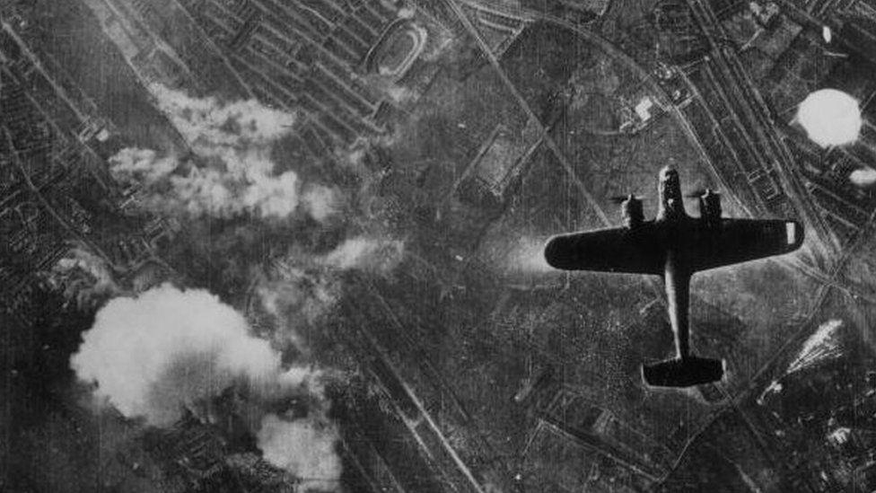 Bomber over London