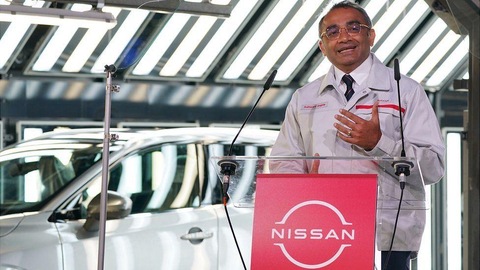 Nissan's chief operating officer, Ashwani Gupta