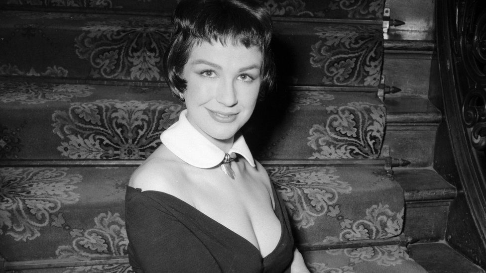 Fenella Fielding in 1955