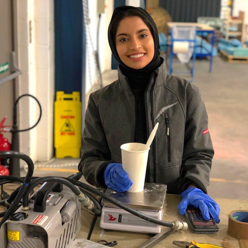 Khadijah Ismail at BAe
