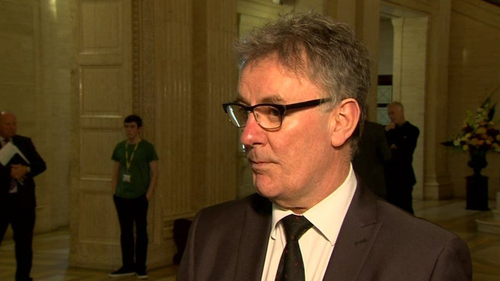 """Ulster Unionist leader Mike Nesbitt claimed it was a DUP """"device"""" to delay decision making on abortion reform until after May's assembly election"""